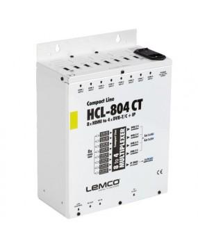HCL-804CT Digital Headend (8x HDMI to 4x DVB-T/C + IP Stream)
