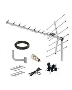 Saorview UHF TV Aerial Kit (Higher Gain)