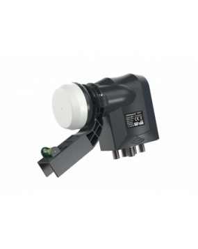 Quad LNB With Terrestrial Input (For Zone 2 Satellite Dishes)