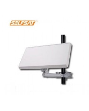 SelfSat™ Flat Satellite Dish